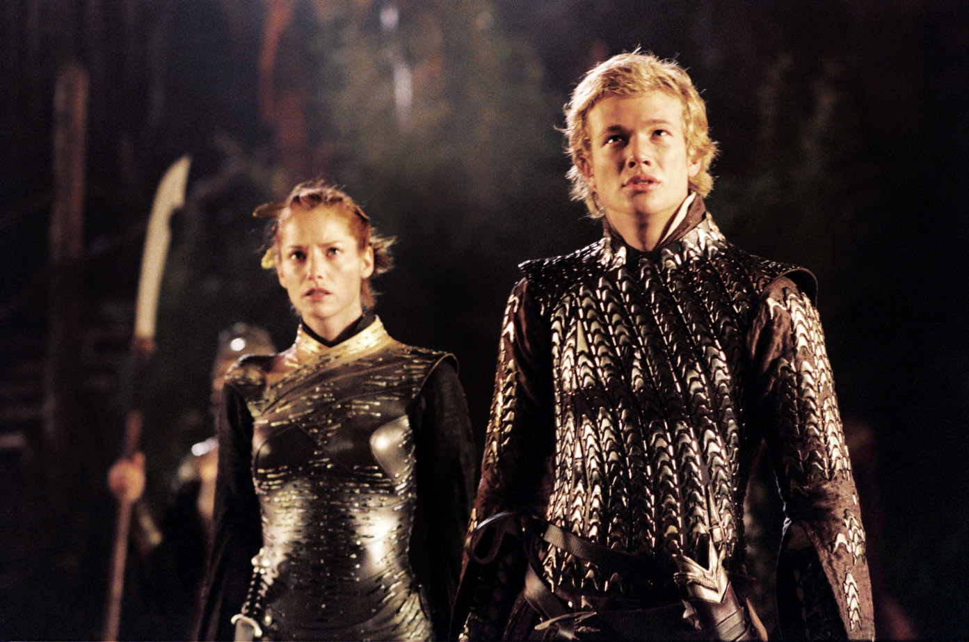 """Sienna Guillory and Edward Speleers in """"Eragon"""""""