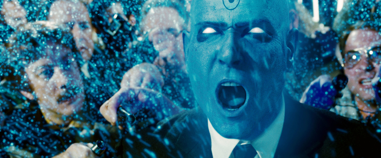 """Billy Crudup as Dr. Manhattan in """"Watchmen"""""""