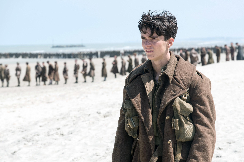 """Fionn Whitehead in """"Dunkirk"""""""
