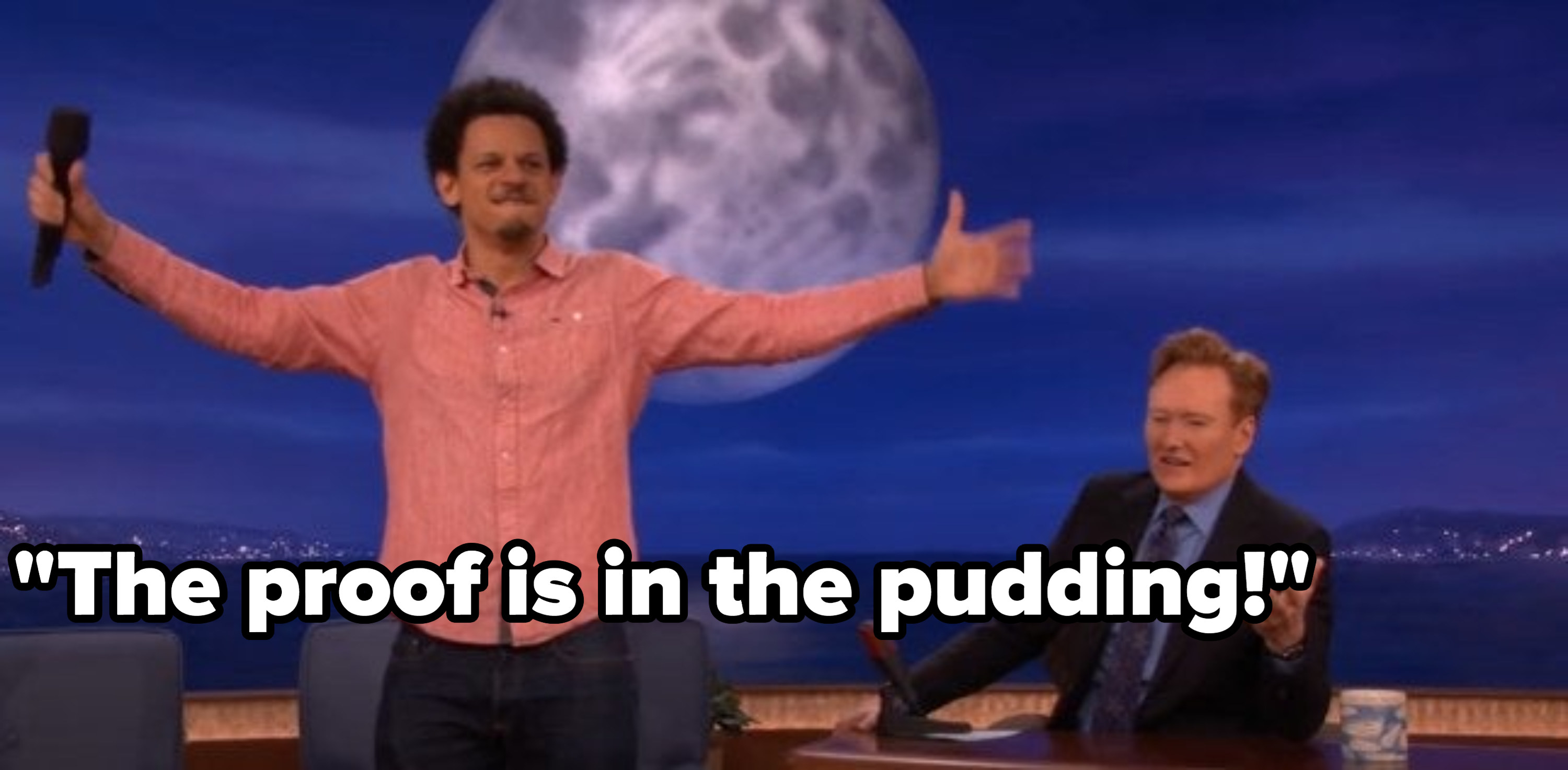 Eric Andre with his