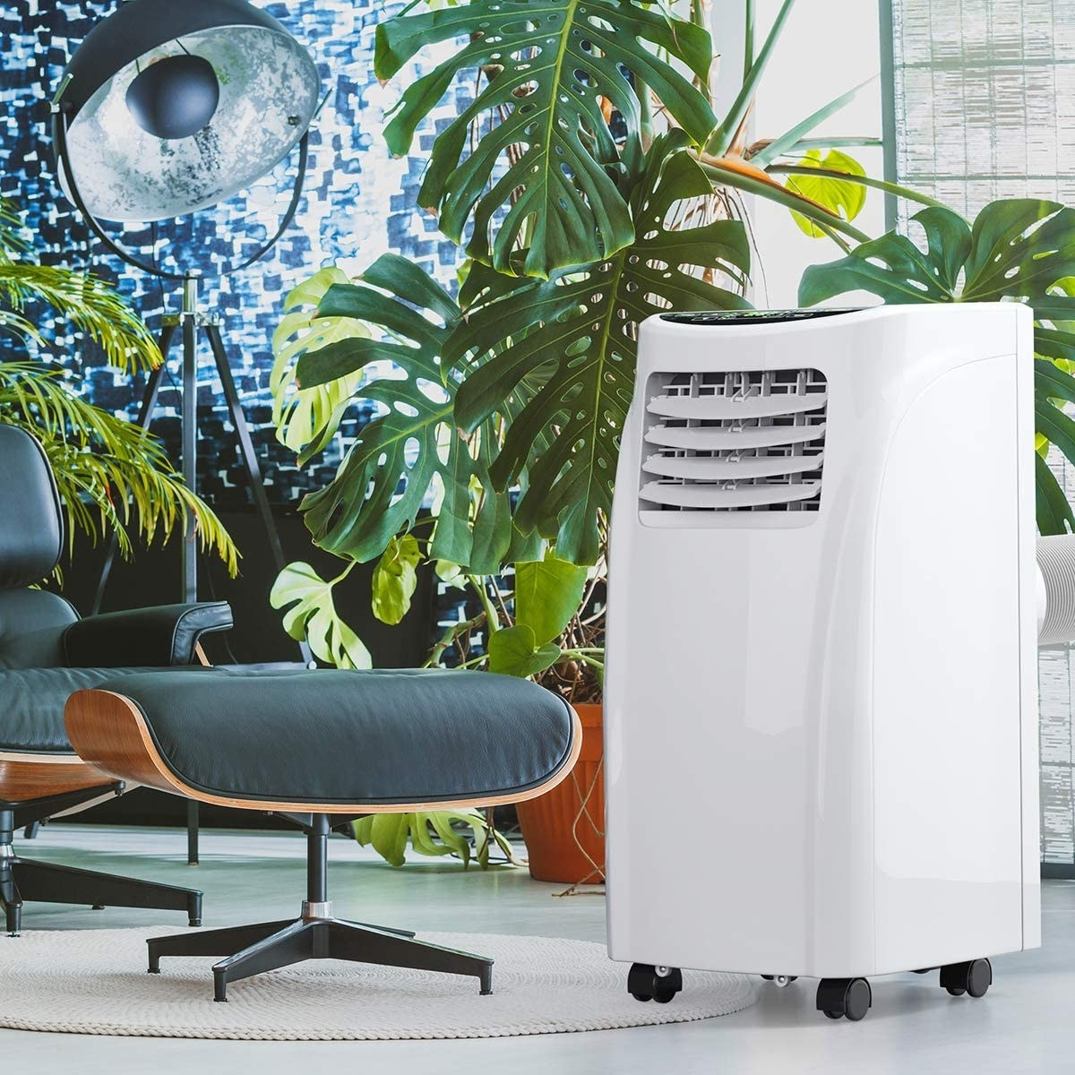The air conditioner in an office