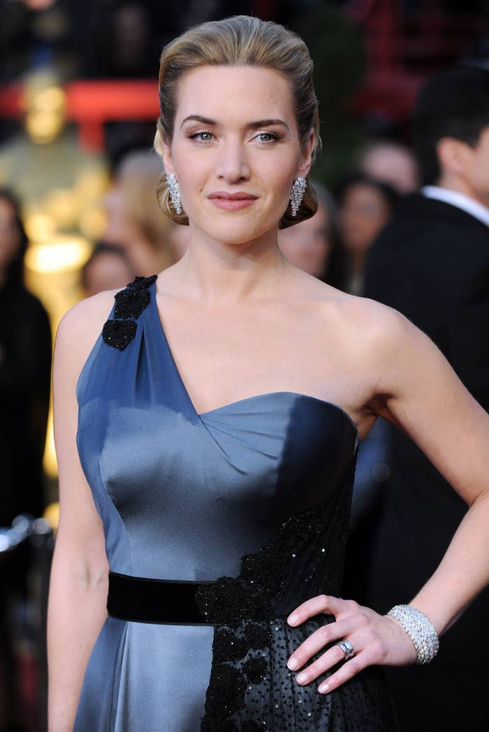 kate winslet at the 2009 academy awards