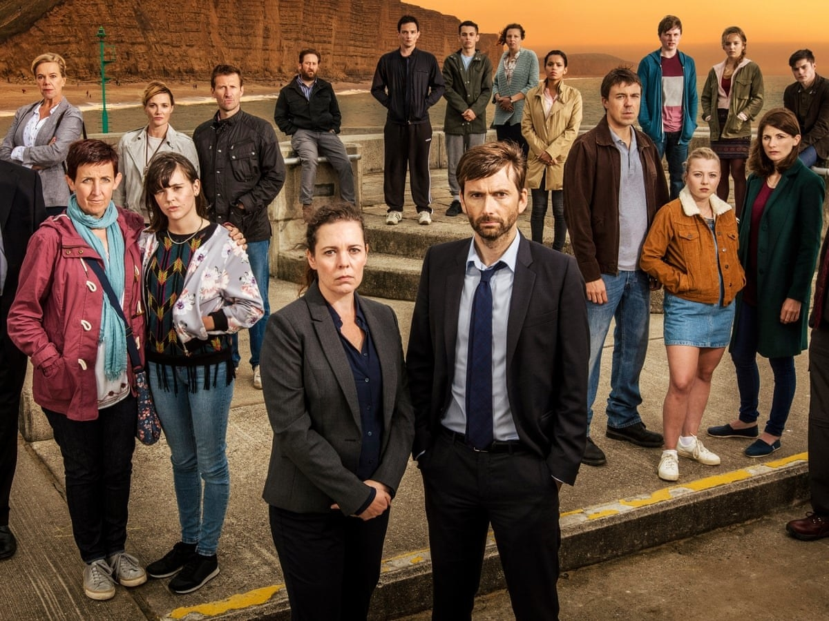Cast of the British TV series Broadchurch