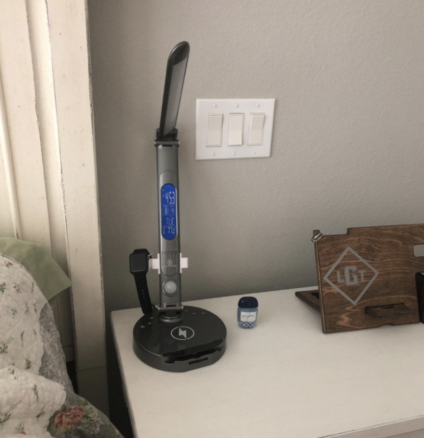 The desk lamp