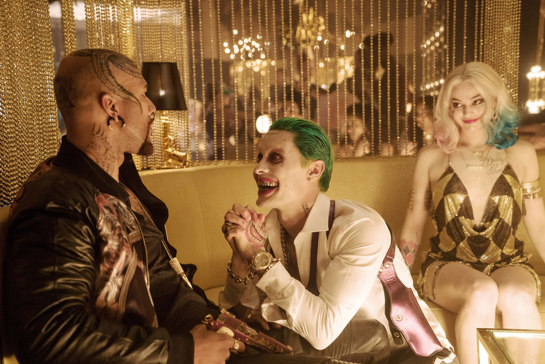 """Common, Jared Leto, Margot Robbie in """"Suicide Squad"""""""