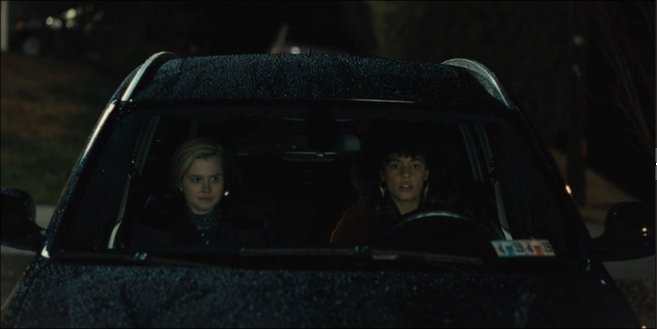 The scene where Kate Winslet hid in the trunk of a car