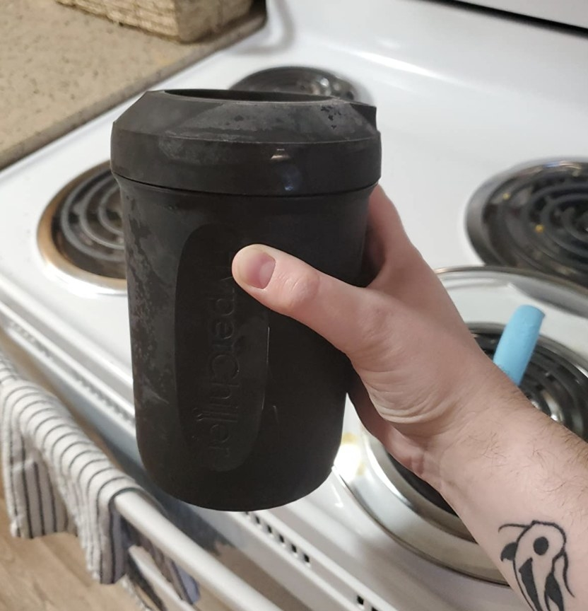 The coffee cooler