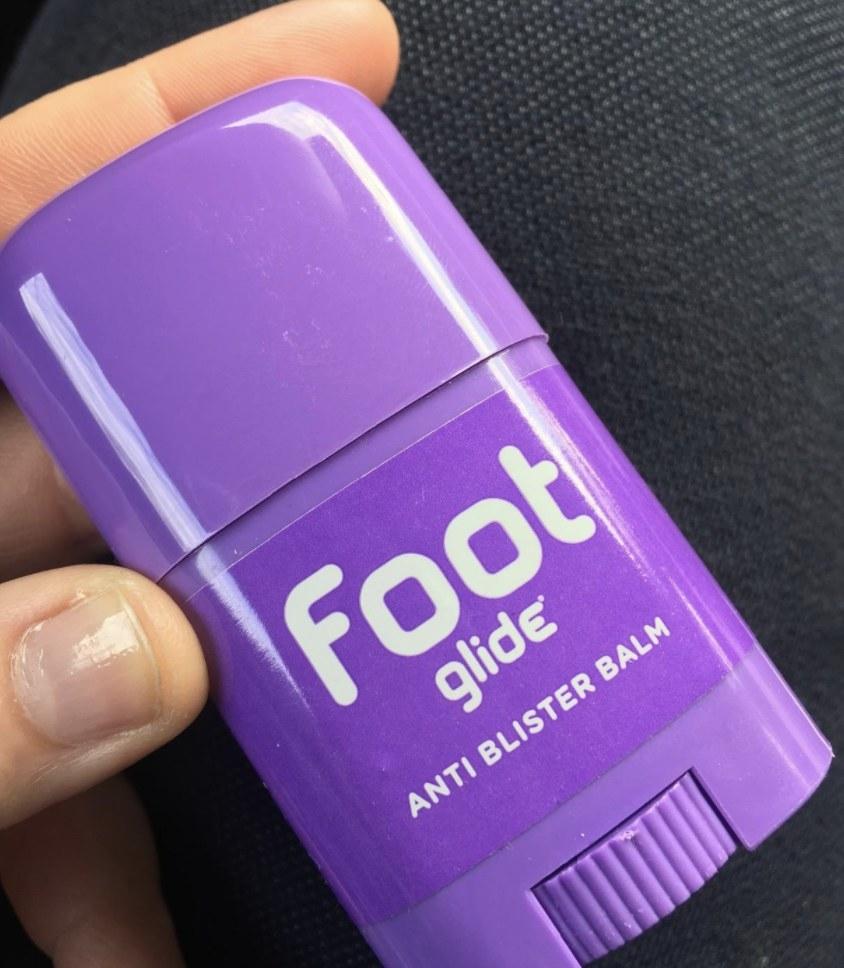 The anti-blister balm