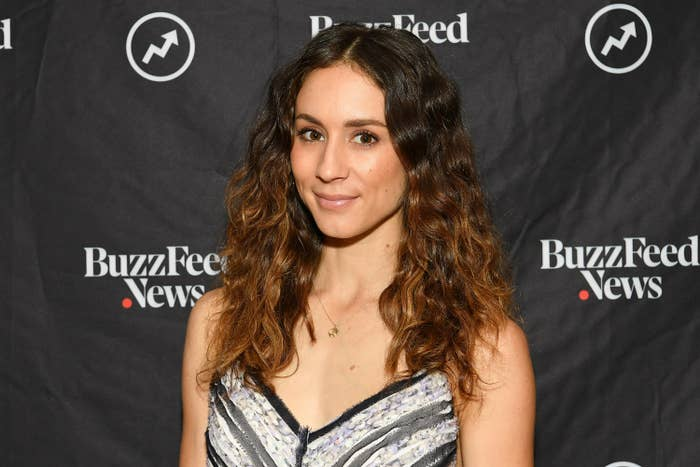 """Troian Bellisario at BuzzFeed's """"AM to DM"""" on August 13, 2019 in New York City"""
