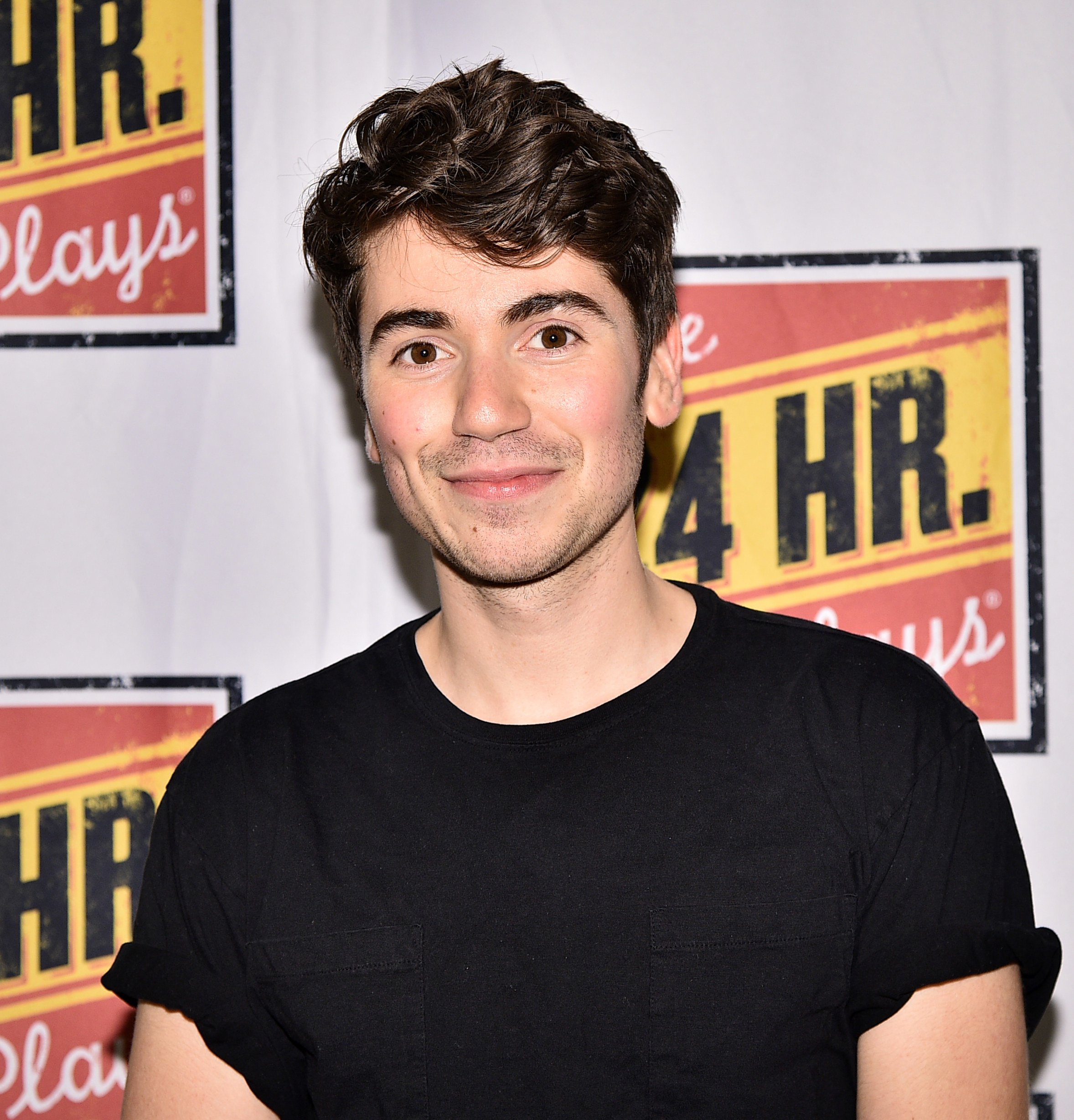 Noah Galvin attends 24 Hour Musicals at The Pershing Square Signature Center on June 17, 2019 in New York City
