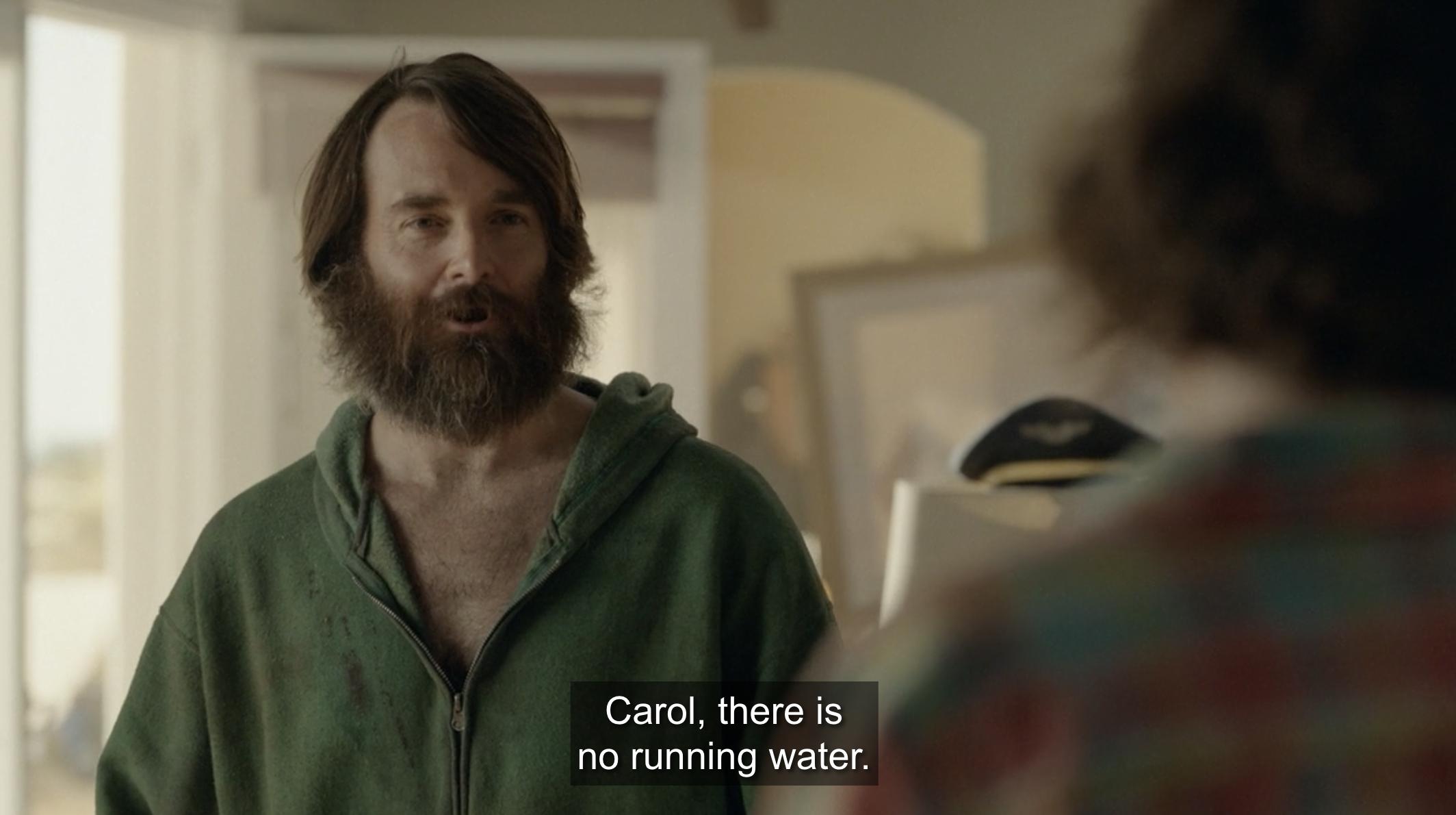 Phil speaking to Carol