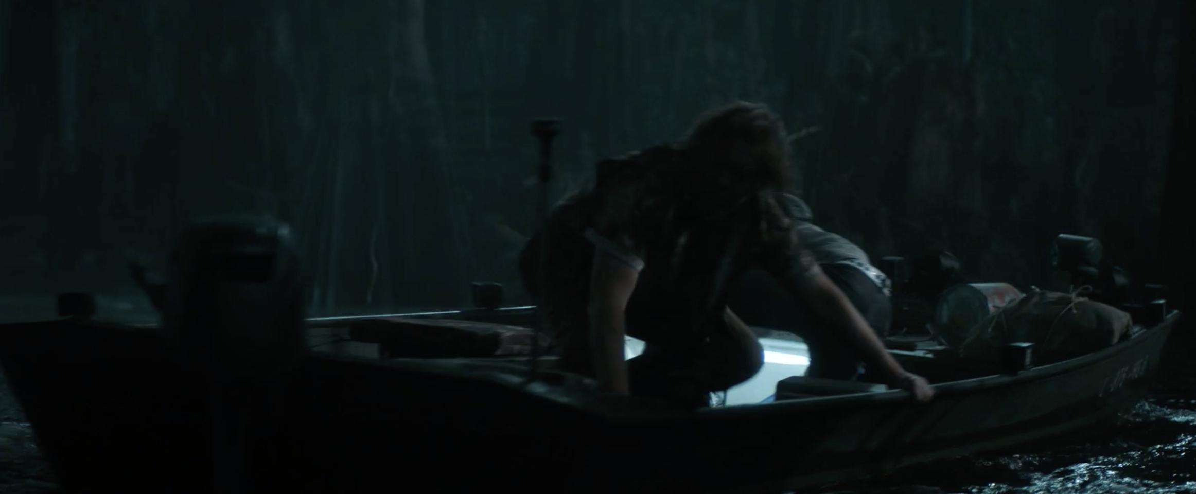 Boat under attack