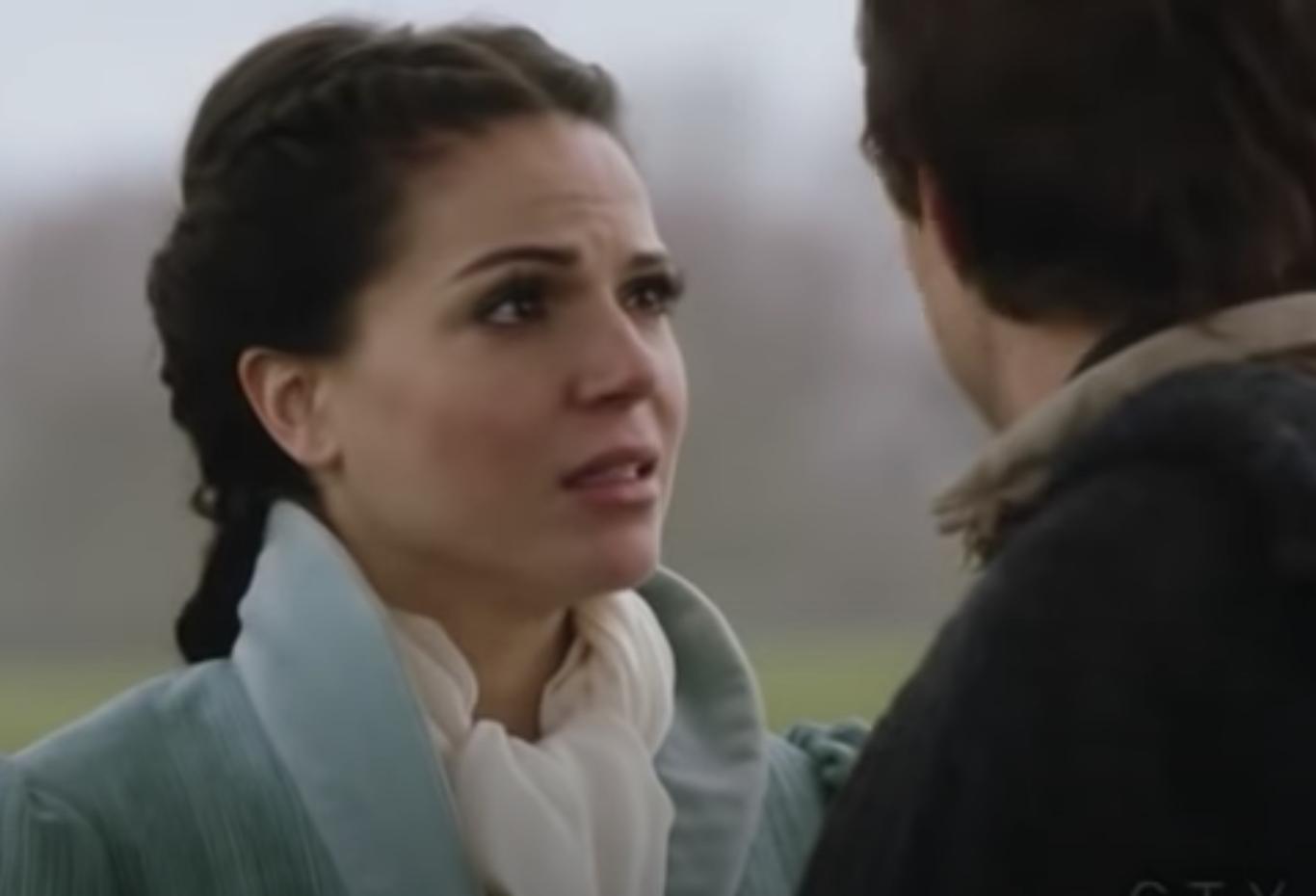Regina in a flashback