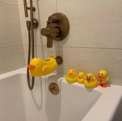 The rubble duck bubble bath