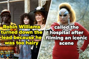 Robin williams turned down the lead role in To Wong Foo, thanks for everything! and divine called the hospital after filming a pink flamingos scene