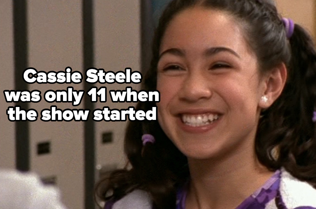 Cassie Steele was only 11 when the show started