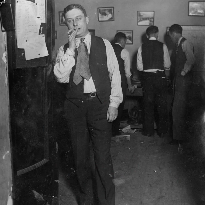 Lingle as a journalist in a newsroom