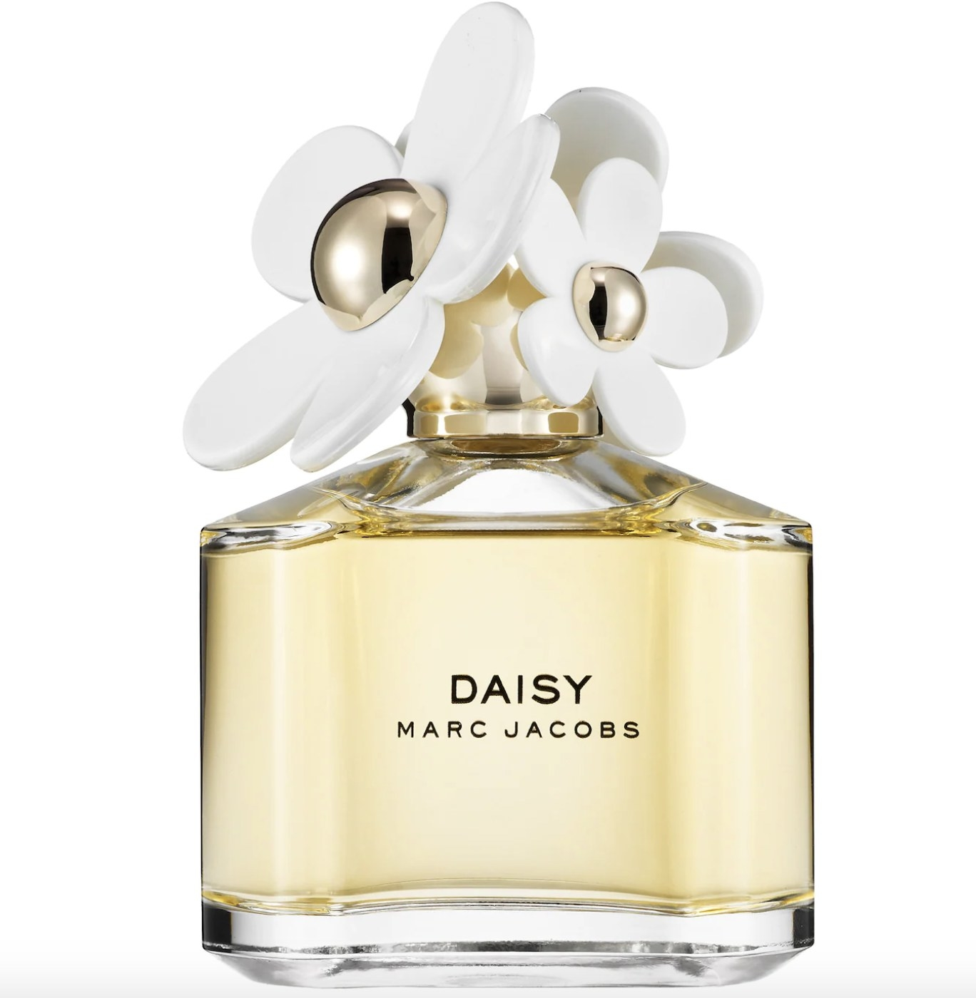the Daisy fragrance with flower details on the cap