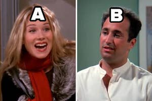 A and b characters