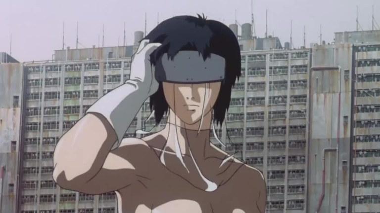 """Major Makoto Kusanagi, """"Ghost in the Shell"""""""