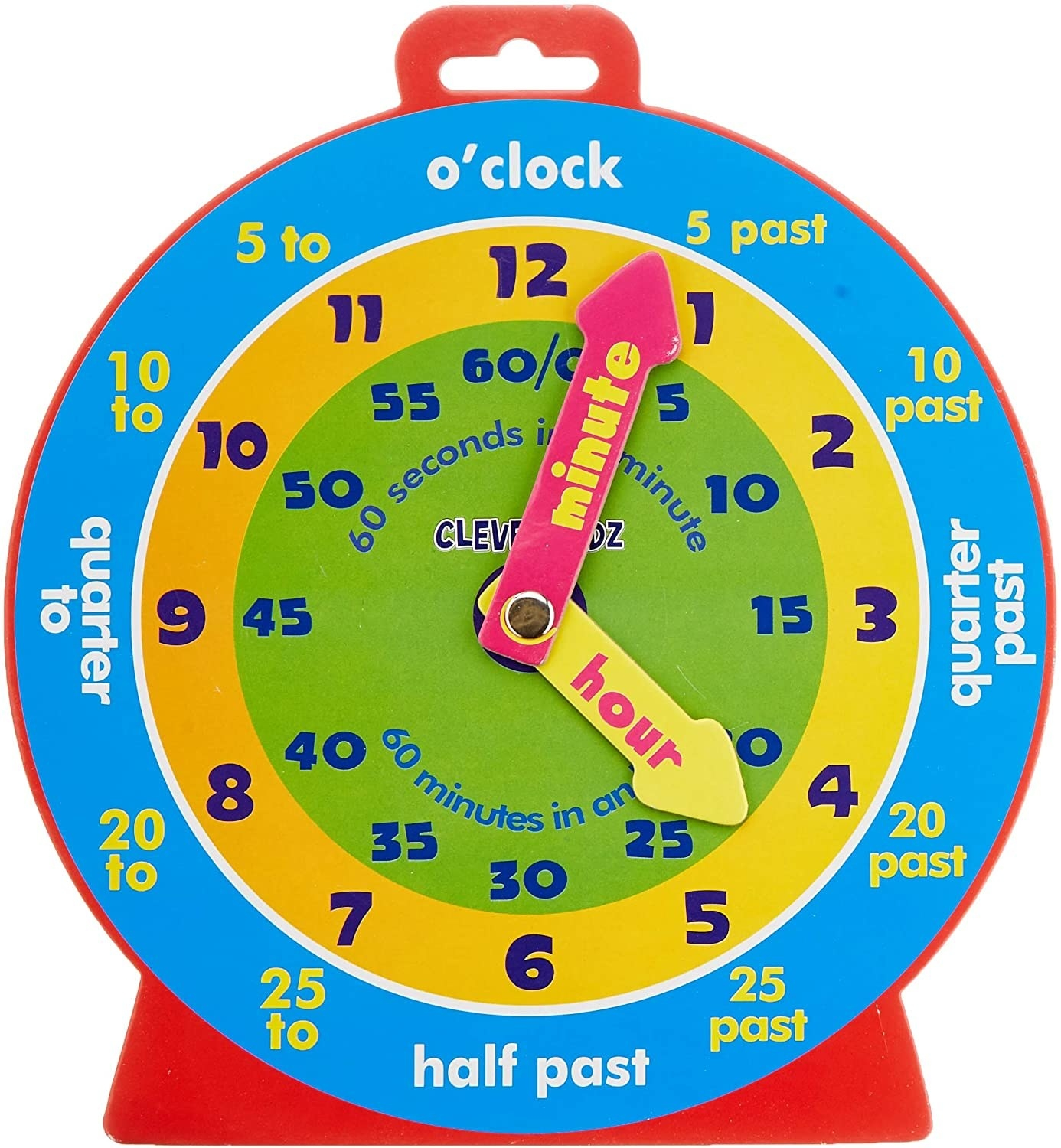 magnetic clock toy
