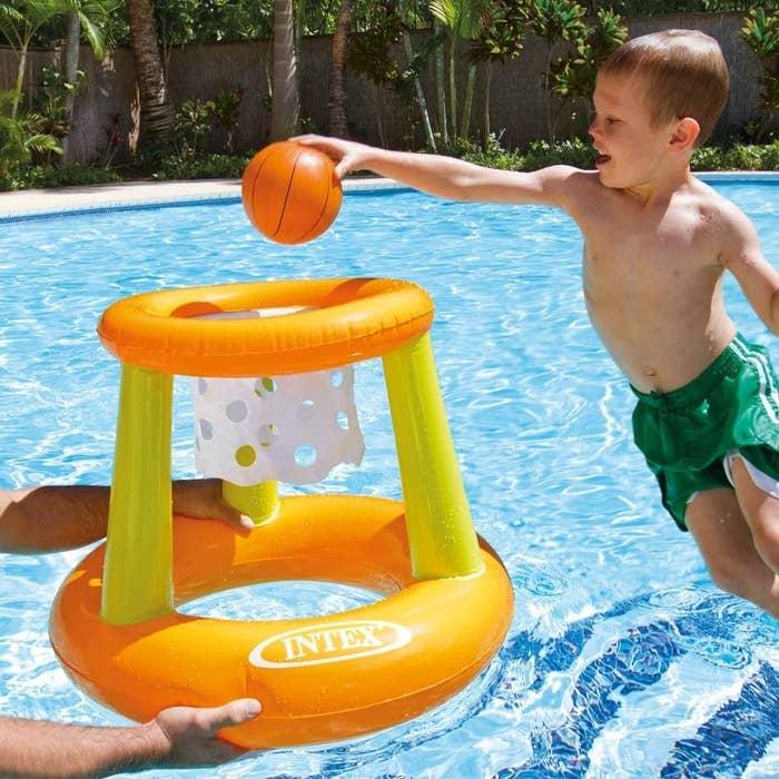 floating pool hoop