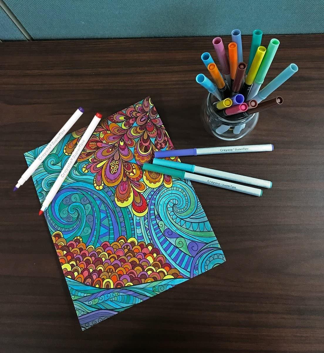 washable felt tip pens