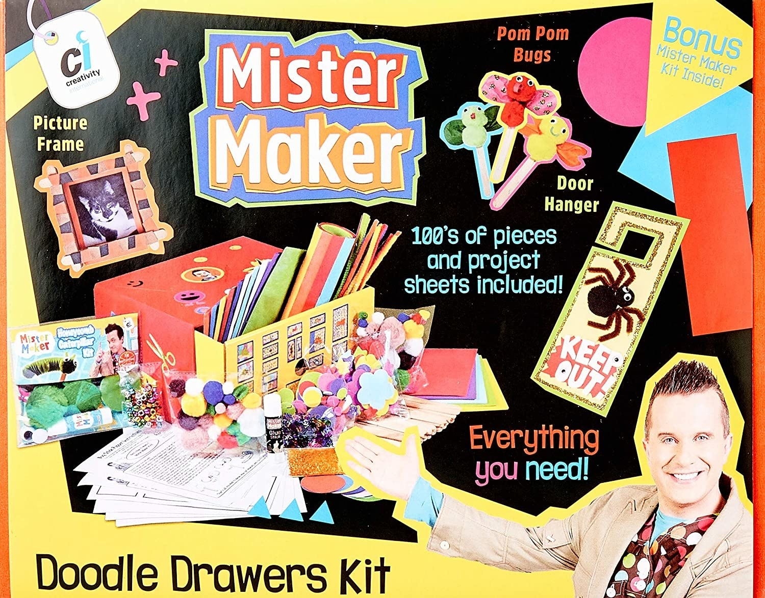 crafting and drawing kit