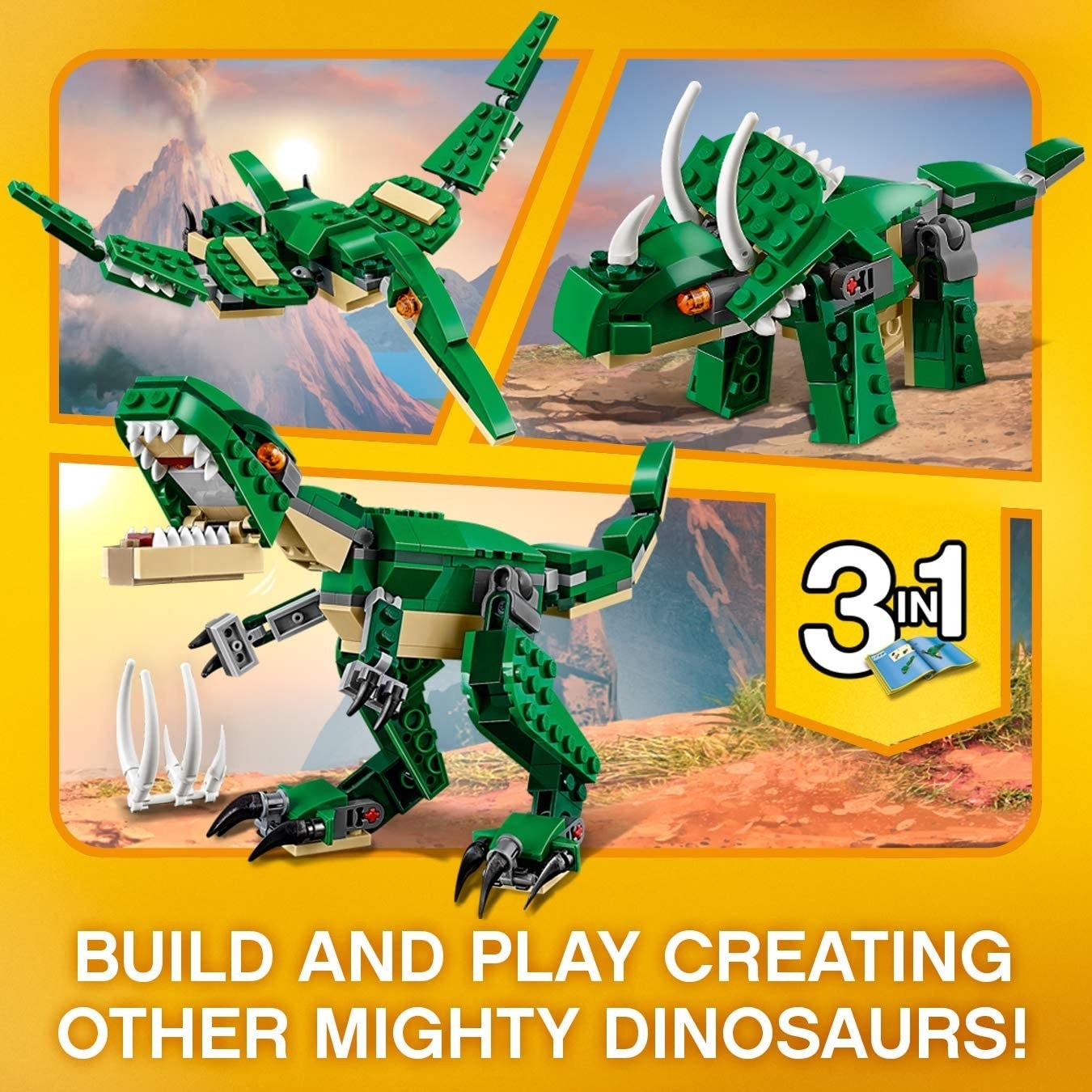 dinosaur lego set