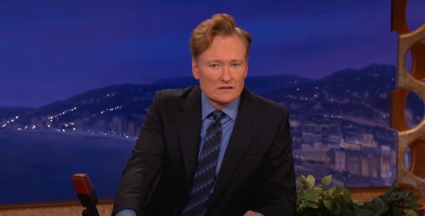Conan looking bewildered