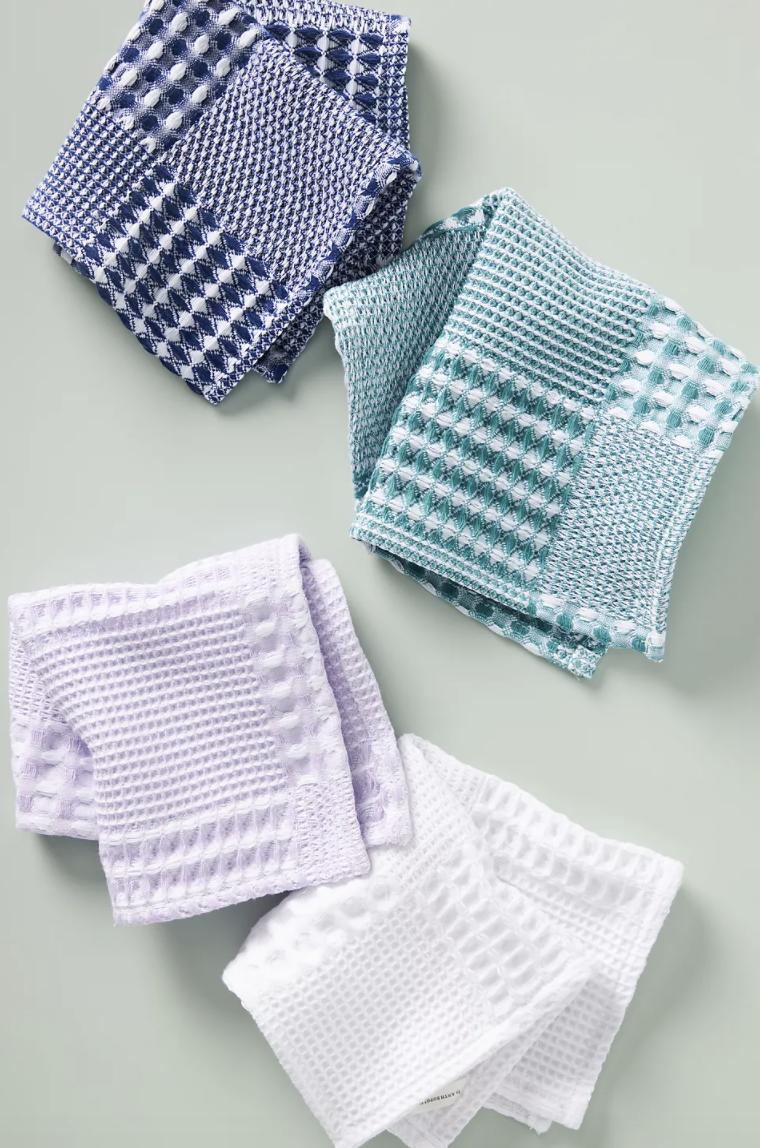 various dish cloths