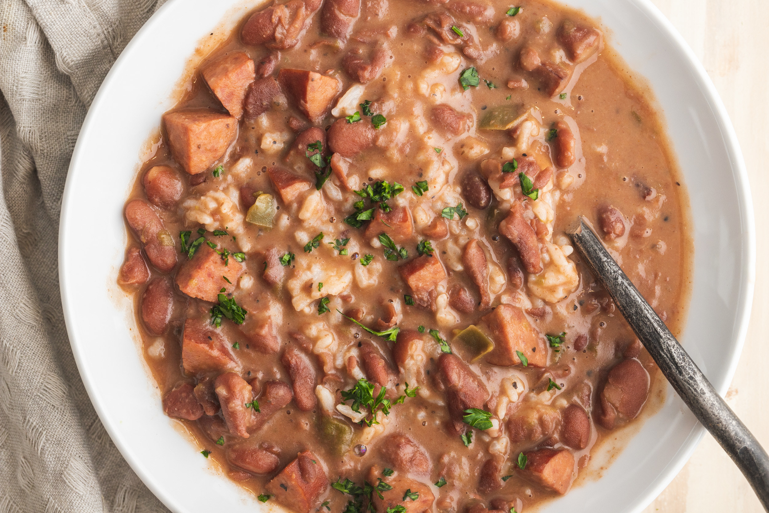 Slow Cooker New Orleans Red Beans and Rice