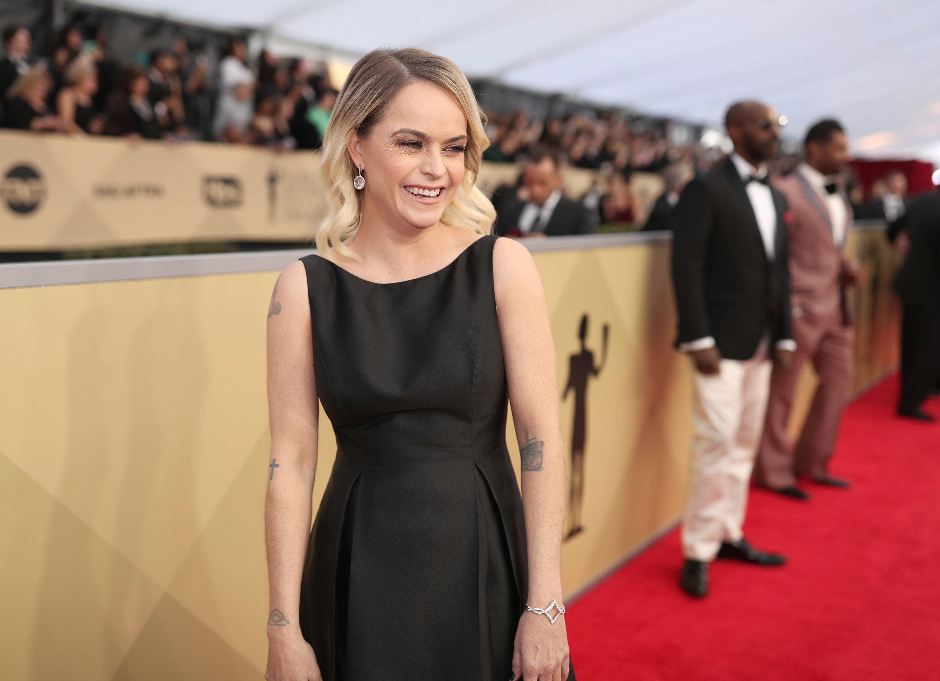 Taryn Manning attends the 24th Annual Screen Actors Guild Awards at The Shrine Auditorium on January 21, 2018, in Los Angeles, California