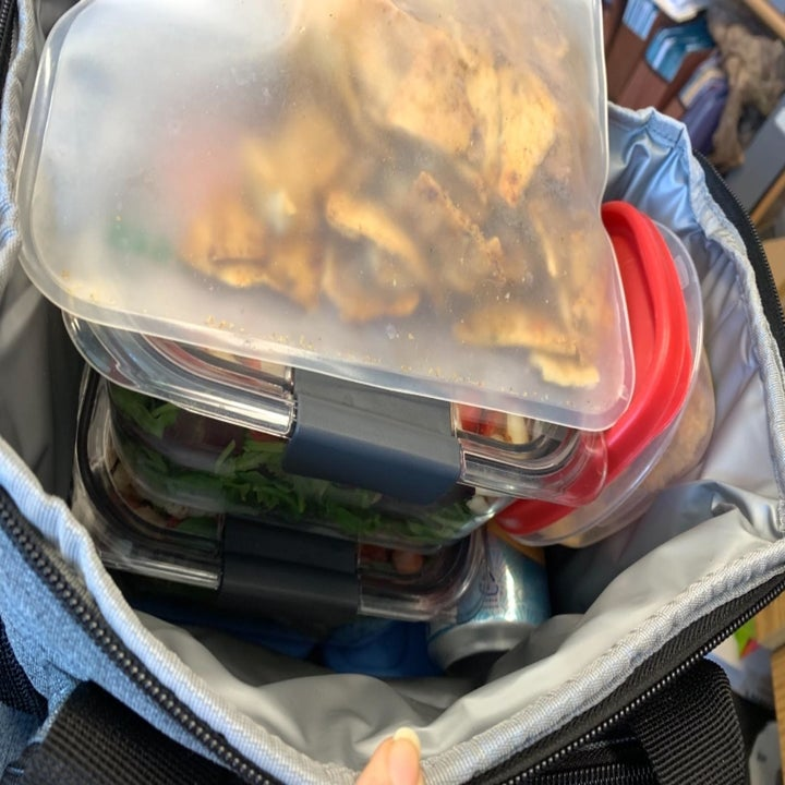 Everything that fits in the bag (it's a lot!)