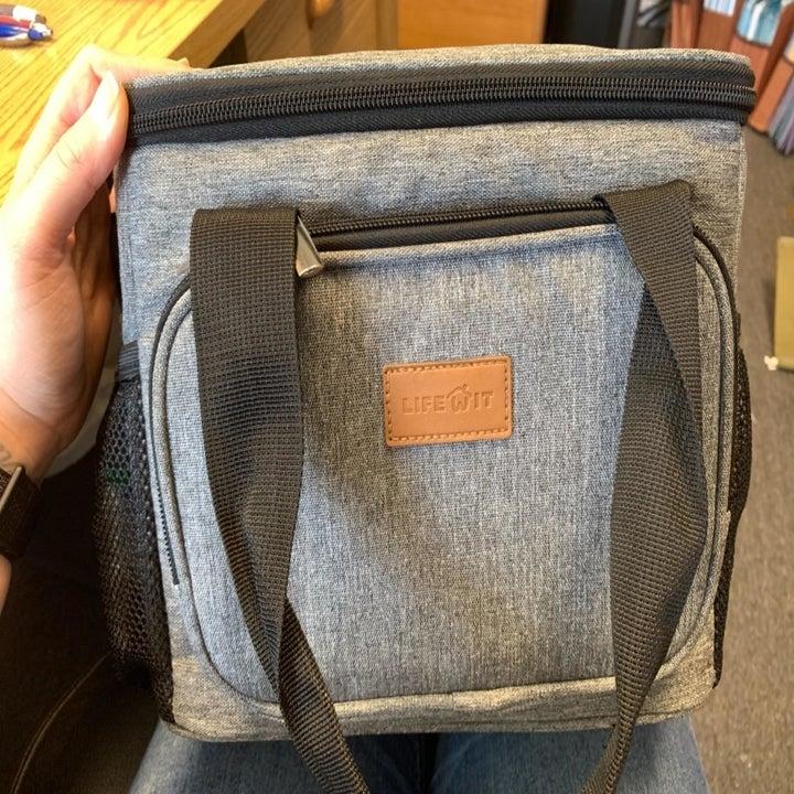 The grey bag