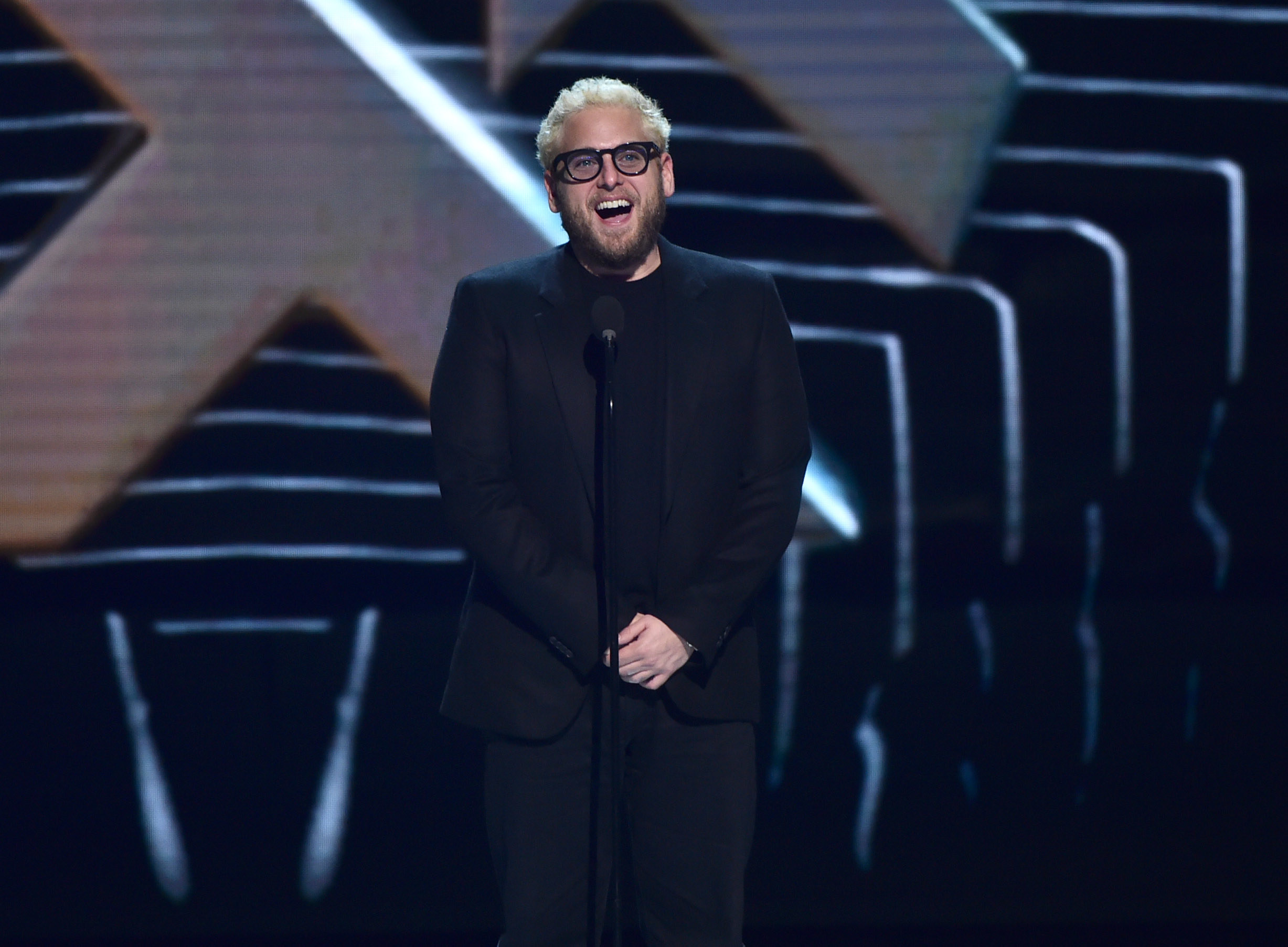 Jonah Hill attends the 2018 Game Awards at Microsoft Theater on December 06, 2018, in Los Angeles, California