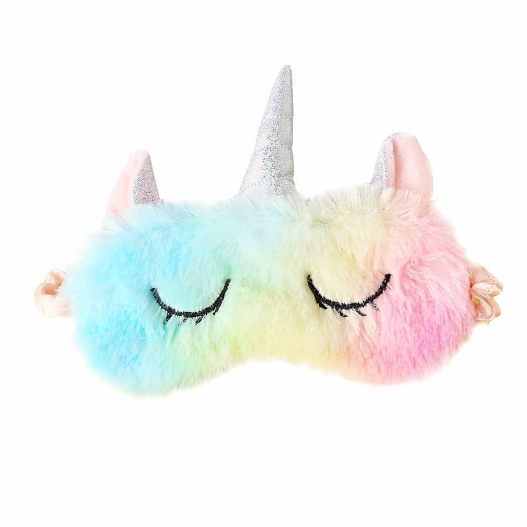 Unicorn sleep mask