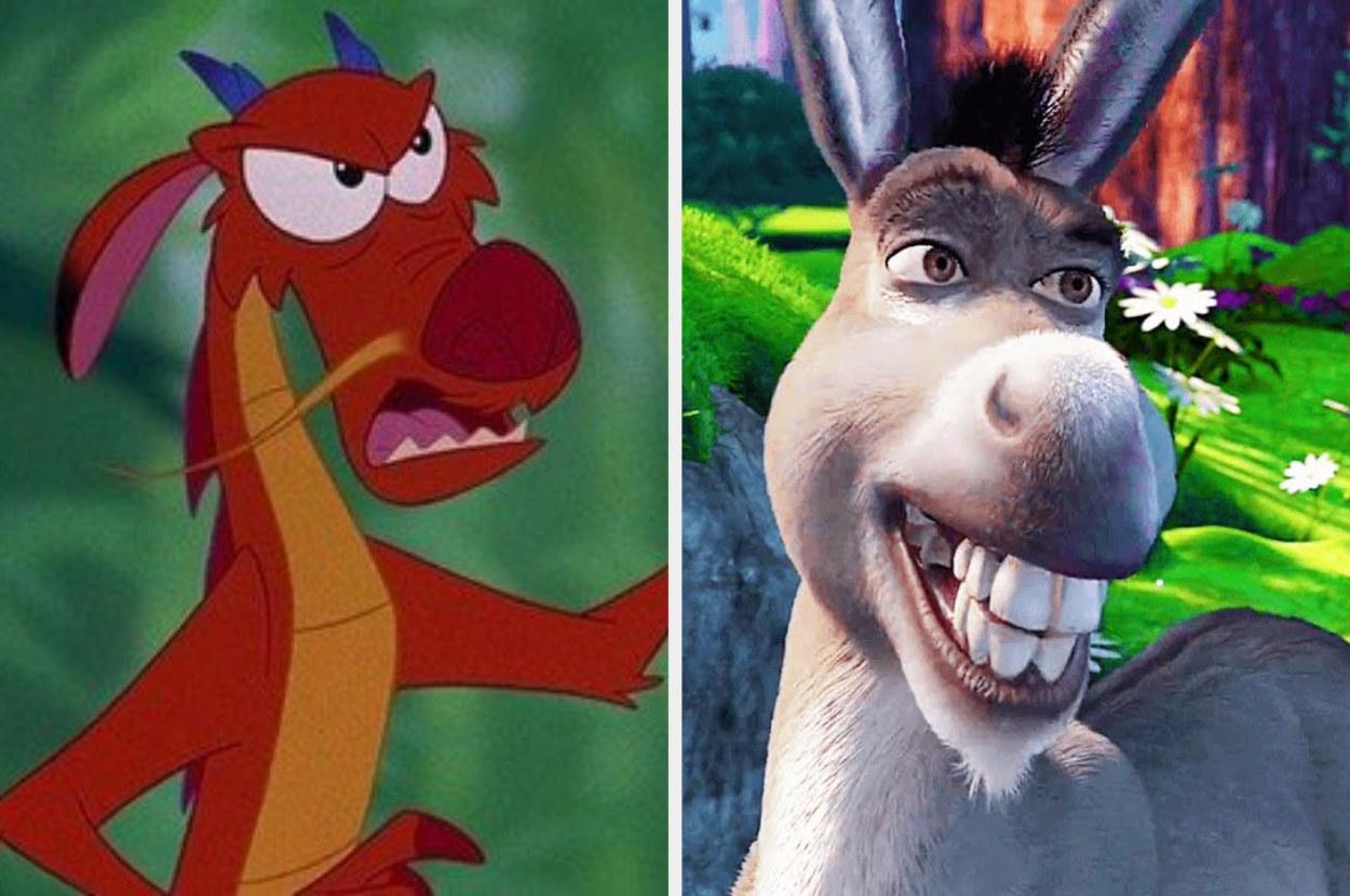 Mushu and Donkey