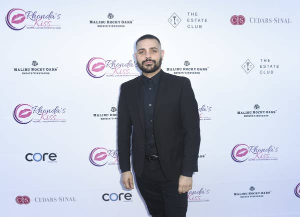 """Michael Costello attends Rhonda's Kiss """"Kiss The Stars"""" Cancer Fundraising Dinner at The Estate Club's Sky Castle Estate on June 13, 2018 in Los Angeles, California"""