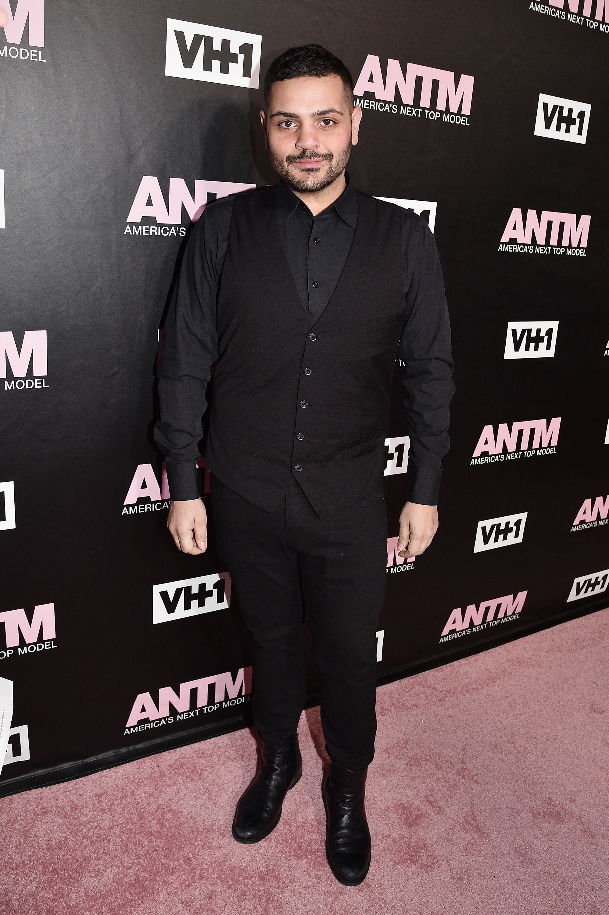 Fashion designer Michael Costello attends the VH1 America's Next Top Model premiere party at Vandal on December 8, 2016 in New York City