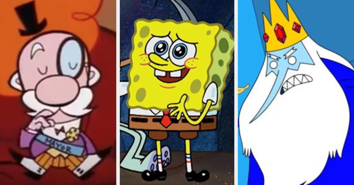 The Mayor, Spongebob, and the Ice King