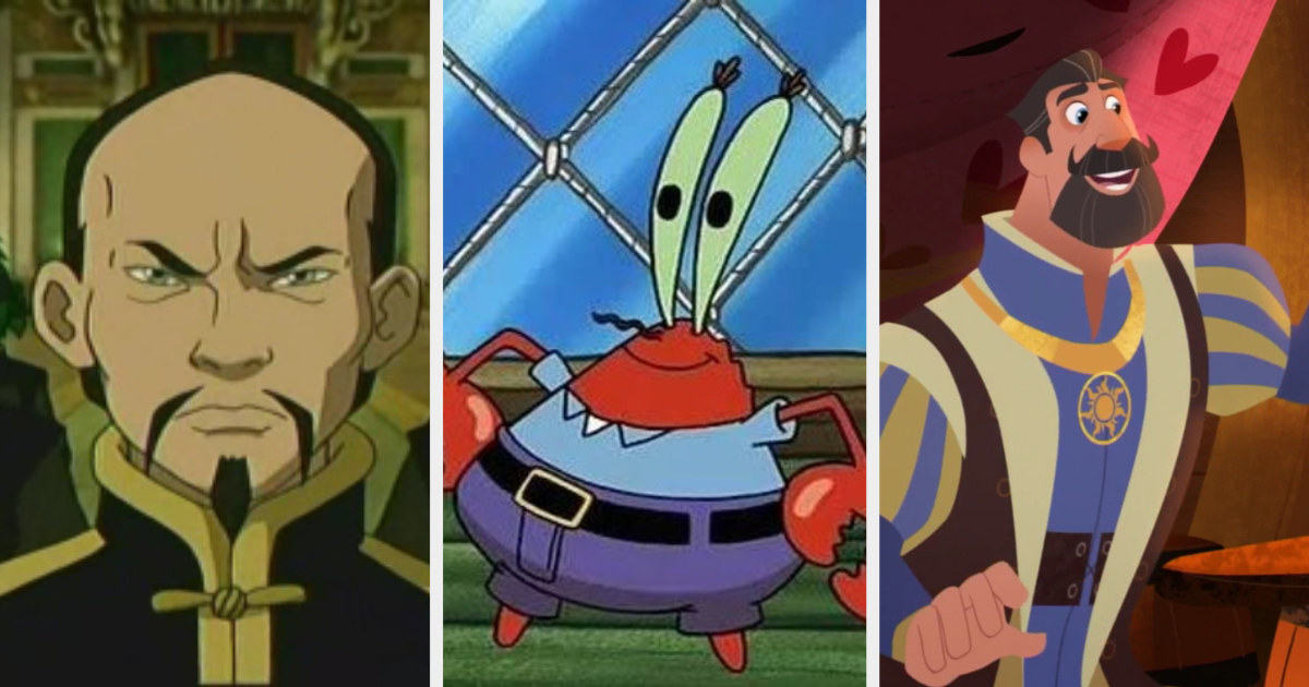 Long Feng, Mr. Krabs, and King Frederic