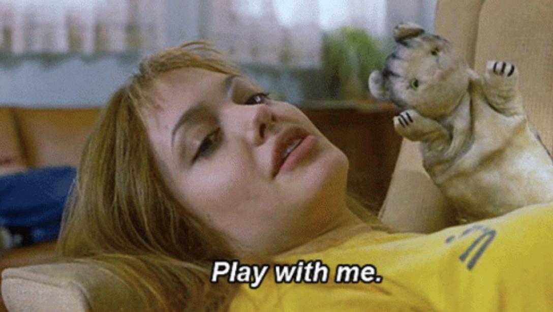 "Angelina Jolie in ""Girl, Interrupted"""