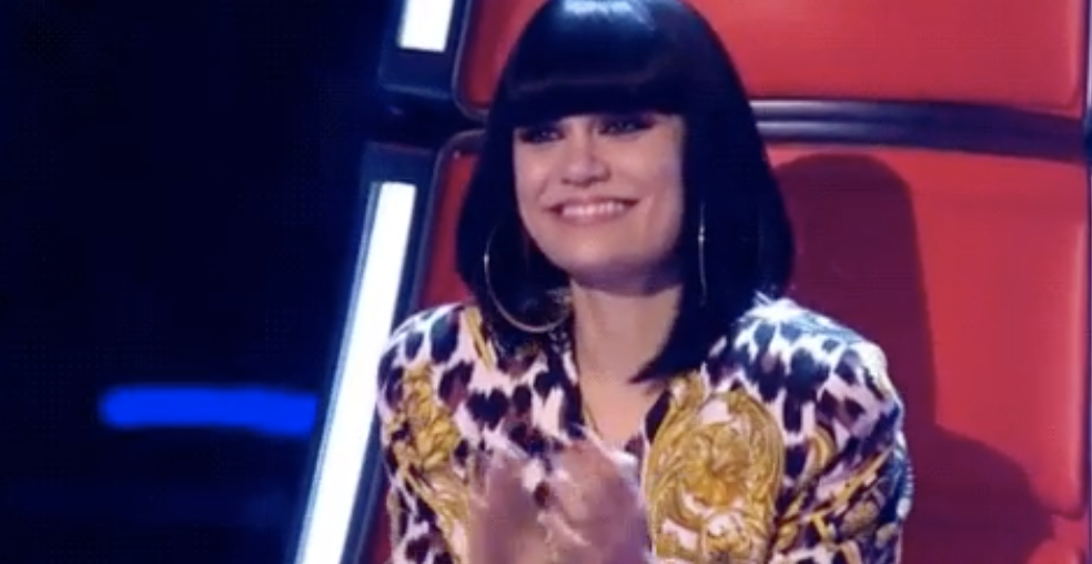 """Jessie J as a judge on """"The Voice"""""""