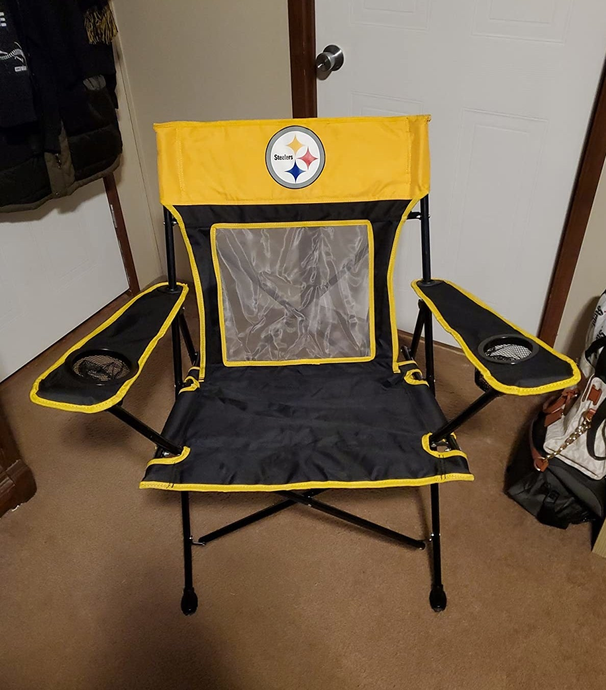the Steelers chair
