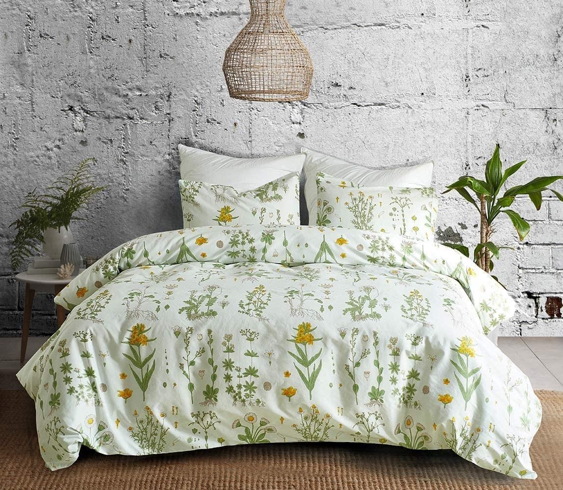 botanical bedsheets