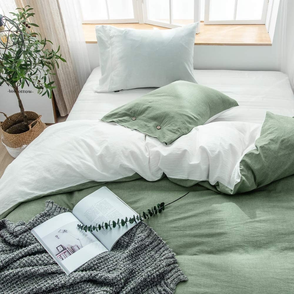 washed cotton sheets