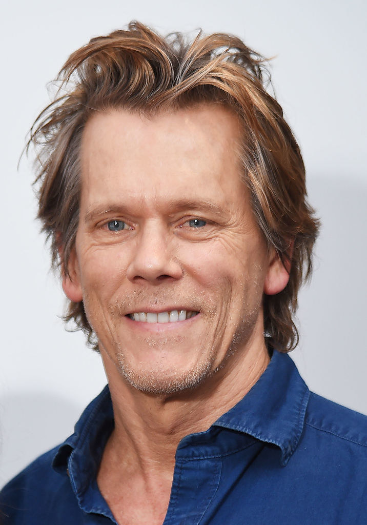 Kevin Bacon smiling
