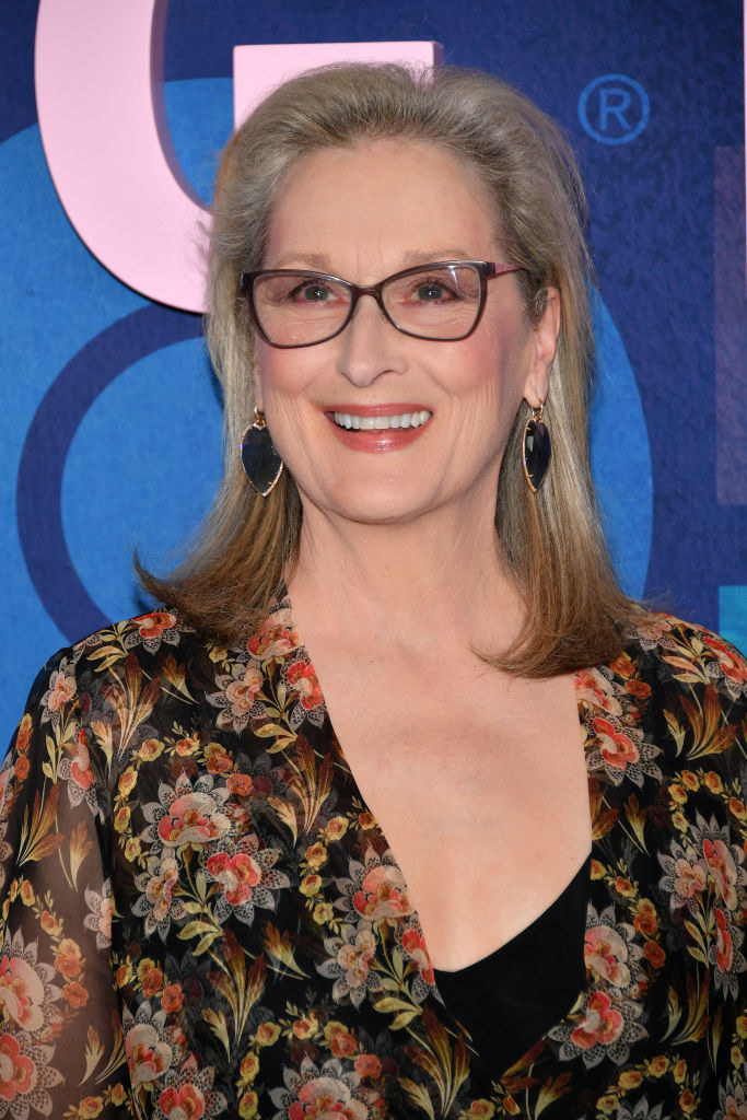 Meryl Streep smiling at an event