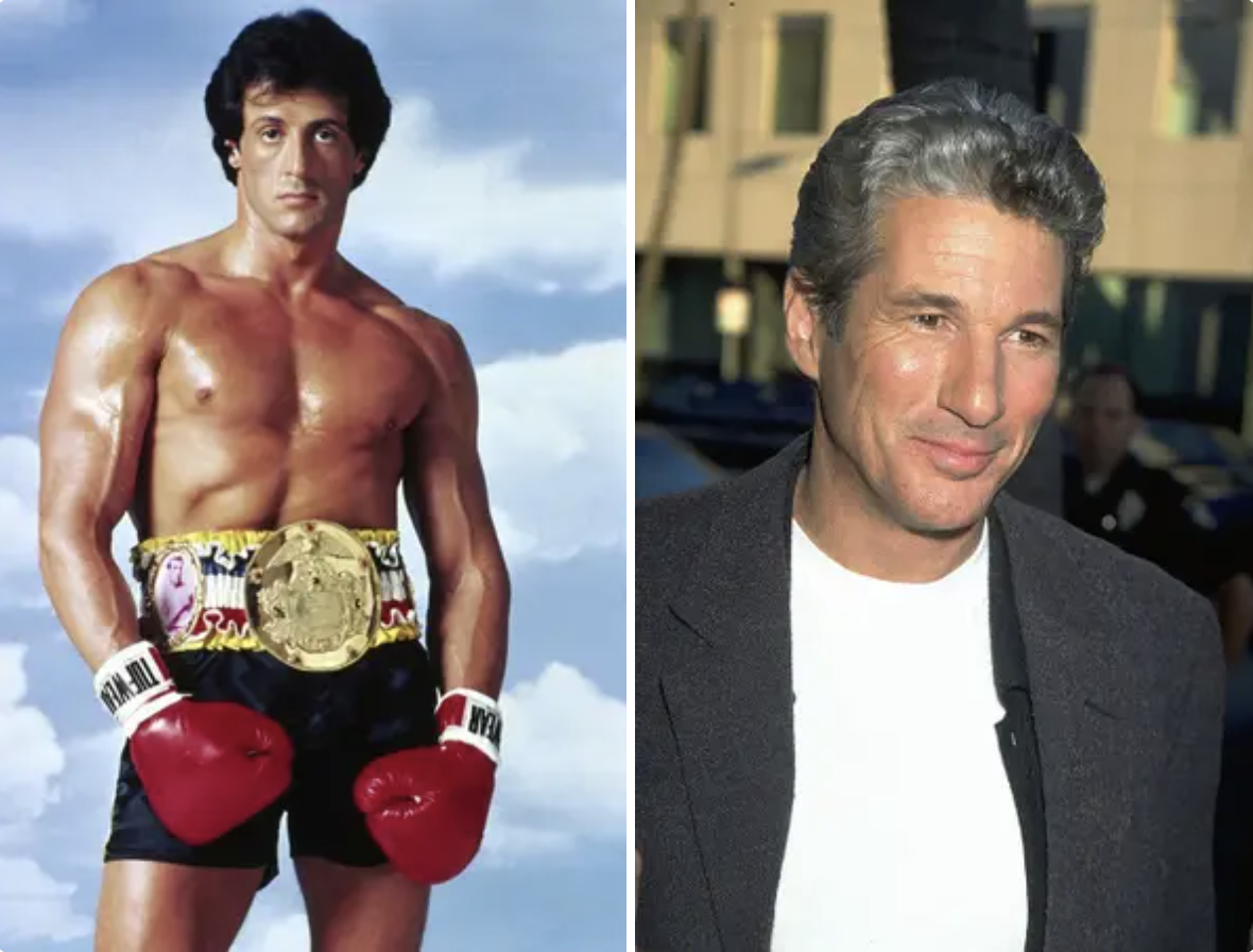 Stallone and Gere